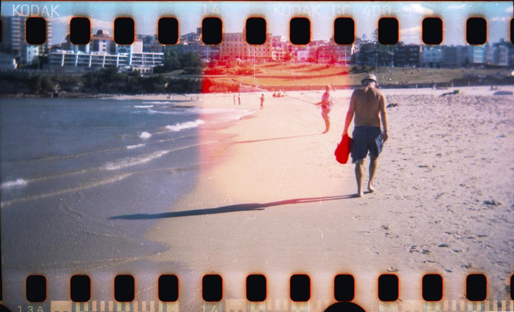 Holga Kamera Strand